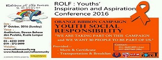 (ROLF): YOUTHS' INSPIRATION AND ASPIRATION Conference 2016